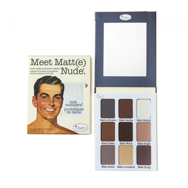 The Balm Meet Matt(e) Nude Eyeshadow Palette