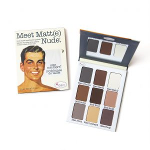 The Balm Meet Matt(e) Nude Eyeshadow Palette Set ( 9 färger )