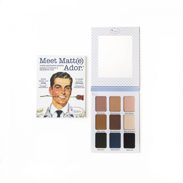 The Balm Meet Matte(e) Ador Eyeshadow Palette