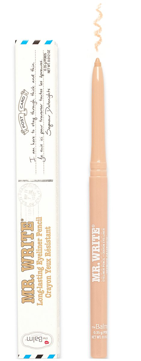The Balm Mr. Write Eyeliner Pencil Seymour - Datenights