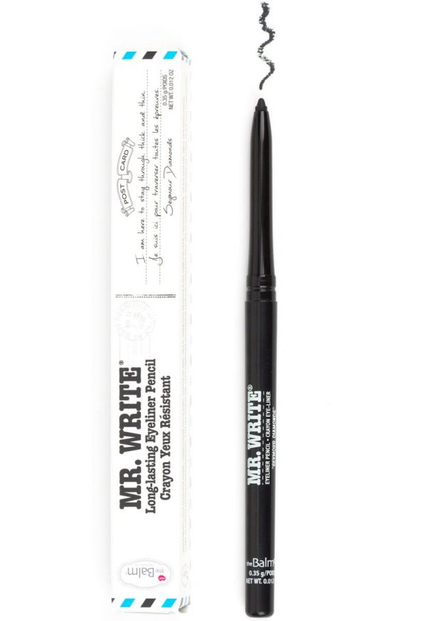 The Balm Mr. Write Eyeliner Pencil Seymour - Diamonds