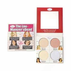The Balm The Lou Manizier Squad Highlighter Quad