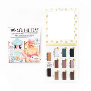 The Balm What's The Tea? Ice Tea Eyeshadow Palette
