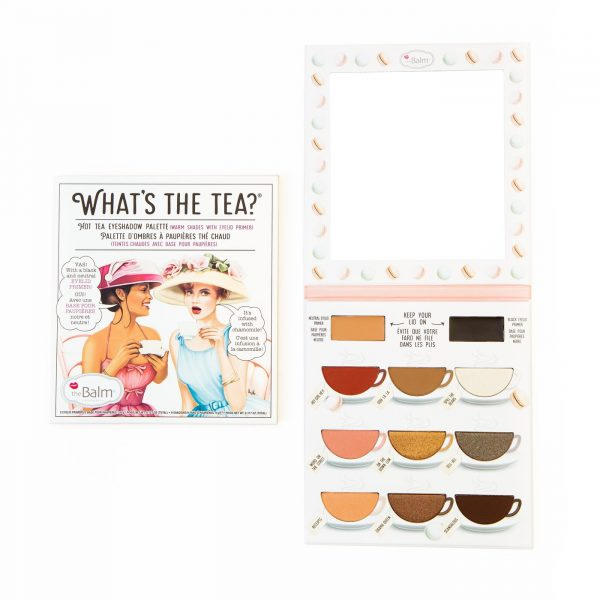 What's The Tea Hot Tea Eyeshadow Palette